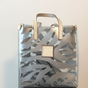 Dooney & Bourke Clear Zebra Print Bag